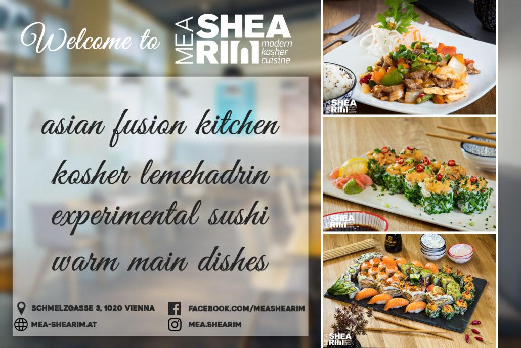 Mea Shearim Kosher Restaurant - modern kosher cuisine in Vienna